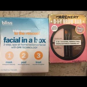 Soap and glory D-I-Y brow bar bliss facial in box